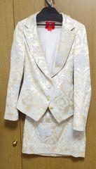 Я】ヴィヴィアンLED LABELダマスク柄 スーツ セットアップ 38サイズ