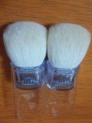 ティスティモ ブラシ 高級山羊毛 2個セット 新品!可愛い!
