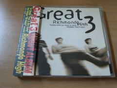 GREAT 3 CD「リッチモンド・ハイ ROTTEN HATS」ロッテンハッツ●