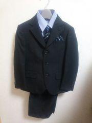 【A035】110cm スーツ5点セット 卒園式・入学式に!