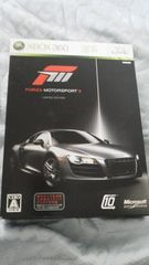 フォルツァモータースポーツ3限定版【Xbox360】