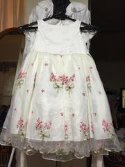 子供用刺繍レースドレス中古美品