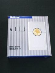 新品★薄型名刺サイズ★ナショナル カードシェーバーアイトAITE ES518 -Sシルバー