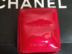 CHANEL ROUGE ALLURE スクエアポーチ
