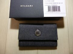美品 BVLGARI ブルガリ ロゴマニアの6連キーケース