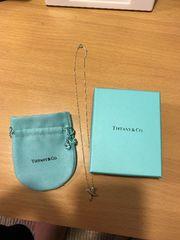 確実本物ティファニーTIFFANY&Co.ネックレス保存袋 箱つき正規品