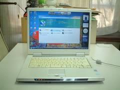 すぐ使える Vista ワイド マルチ 無線LAN FMV-NF50X 120G