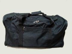 COSMOSコスモス 大型ボストンバッグ 黒 たっぷり収納