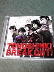 送料無料初回盤CD+DVD 東方神起 BREAK OUT!