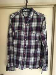 アズールバイマウジー!チェックネルシャツ!Mサイズ美品