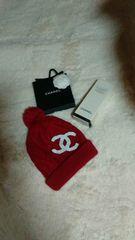 ◆ニット帽◆レッドレア限定品1