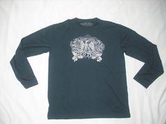 26 男 ラルフローレン ポロジーンズ 黒 長袖Tシャツ M