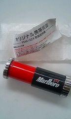 ☆マルボロ携帯灰皿ブラック&レッド☆非売品