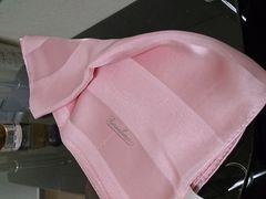 シルク絹100%スカーフ☆ピンク☆シフォン☆ラベンダー日本製