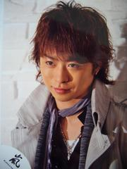 嵐 櫻井翔 公式写真 2007 ARASHI AROUND ASIA in DOME 嵐ロゴ