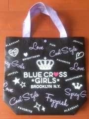 BLUE CROSS GIRLS★ブルークロス ショッピングバッグ