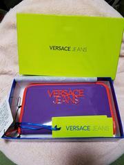 新品未使用VERSACE jeans ヴェルサーチジップウォレットsuns