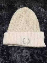 フレッドペリー ニット帽 美品 フリーサイズ