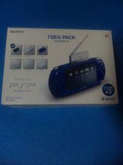 PSP 本体 PSPJ-20004 ワンセグパック メタリックブルー ジャンク扱い