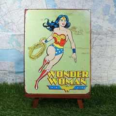 ★新品★【ブリキ看板】Wonder Woman/ワンダーウーマン
