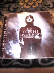 CD:TOSHI(X-JAPAN) LIVE is BEST