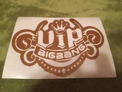 ハンドメイド BIGBANG ステッカー 金色