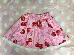 Angelic Pretty Wrapping Cherry�X�J�[�g �s���N
