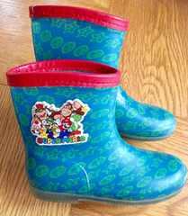 スーパーマリオ長靴☆18センチ☆レインブーツ☆クッパキノピオ