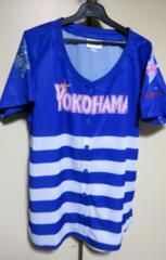 青白F■新品◆横浜DeNAベイスターズ応援レディース女性ユニ野球
