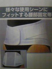 【3Lサイズ】腰痛に★薄型メッシュ素材のコルセット/ヘルニア対策