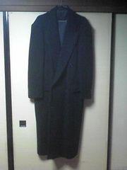 メーカー不明、冬用ロングコート古着あぶでか、柴田恭兵