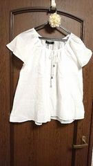 アジアン・ボヘミアン調☆胸元ペイズリー刺繍入り涼しげフレアラインのコットンシャツ