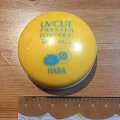 HABAハーバー日焼け止めプレストパウダー45UVカットおしろい