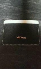 マックスアンドコー黒カードケース