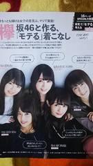 欅坂46■FINE BOYS 2017/1月号)切り抜き8P