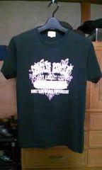 タケオキクチ プリント・半袖Tシャツ Sサイズ2・細身タイト 黒色 ロック・パンク