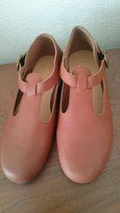 ニコアンド!新品!靴!Mサイズ!茶色!