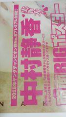 315  中村静香 両面BIGポスター