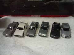 ローソン限定 1/72  スカイライン 50th  コレクション 全6車