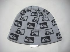 mb851 男 QUIKSILVER クイックシルバー リバーシブル ニット帽