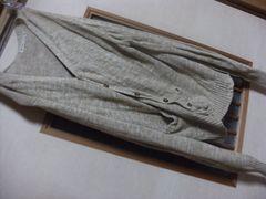 キイロ薄手カーデL*クリックポスト164円