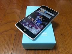 即落/即発!!超美品 DM-01G Disney Mobile ホワイト