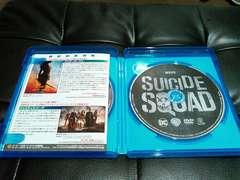 スーサイドスクワッド Blu-ray&dvd ほぼ新品