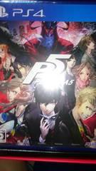 ペルソナ5 P5 PlayStation4 未開封新品ソフト送料無料