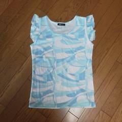 新品レディ好きにフリルスリーブTシャツ