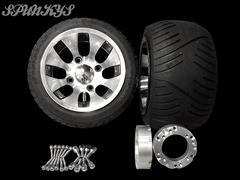 ジャイロ用 ツートンホイール扁平タイヤ&スペーサー40mm