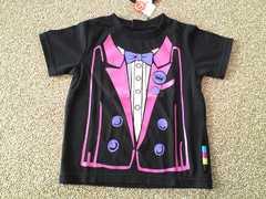 MILKRICH ミルクリッチタキシード風Tシャツ バクプリも可愛い 新品