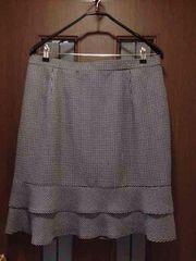 新品84cm★フォーマルスカート★大きいサイズ/2段フリル/ポッケ
