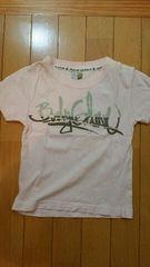 薄いピンクの半袖Tシャツ【110�a】