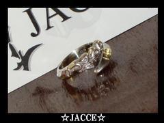 送料無料☆JACCE☆シルバー925オーガニックコイルリング☆フリーサイズ